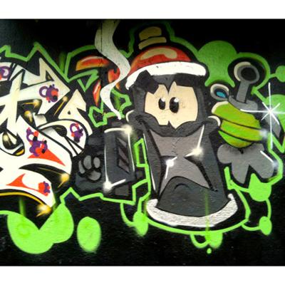 Papier Peint Graffiti Motif5 300 x 260 cm pour 359€