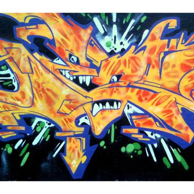 Papier Peint Graffiti Motif6 300 x 260 cm pour 359€