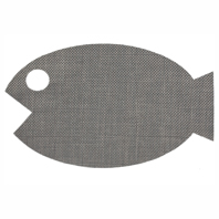 Chilewich Tapis POISSON pour Chat PET MAT Platinum