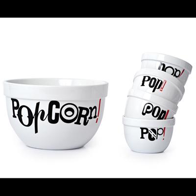 Set POPCORN PARTY Salt & Pepper pour 57€