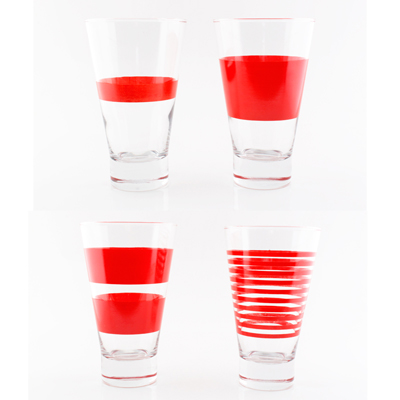 Ensemble Verres Long Drink RED Salt & Pepper pour 13€